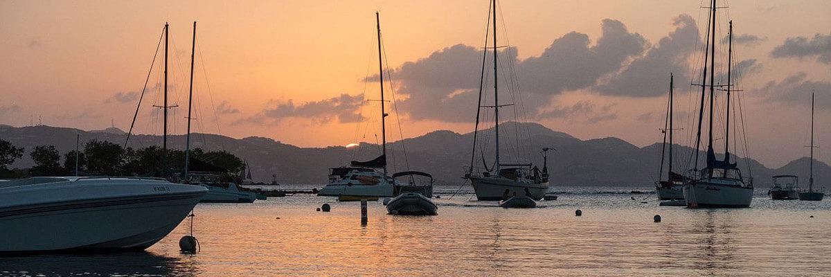 Cruz Bay Sunset St John